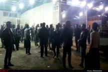 اعتراض غرفه داران میدان میوه و تره بار الغدیر اهواز  مسئولین صدای ما را بشنوند