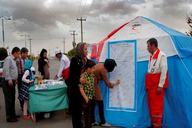 24 هزار نفر از خدمات جوانان هلال احمر قزوین بهره مند شدند