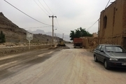 برخی معابر روستایی مهریز مرمت و بهسازی شد
