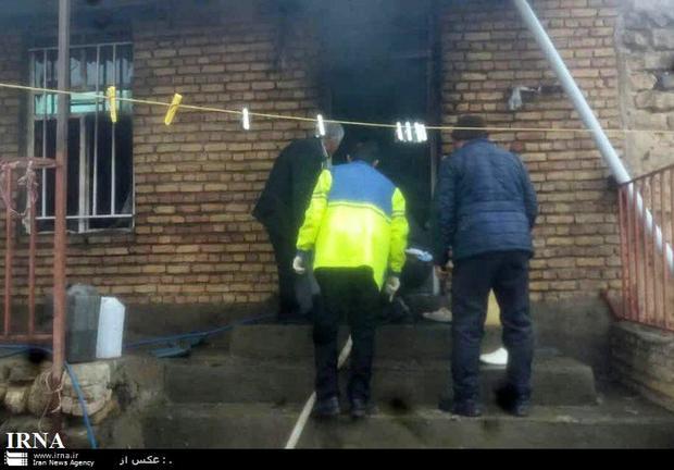 2نفر براثر انفجار گاز در شهرستان گرمی جان باختند