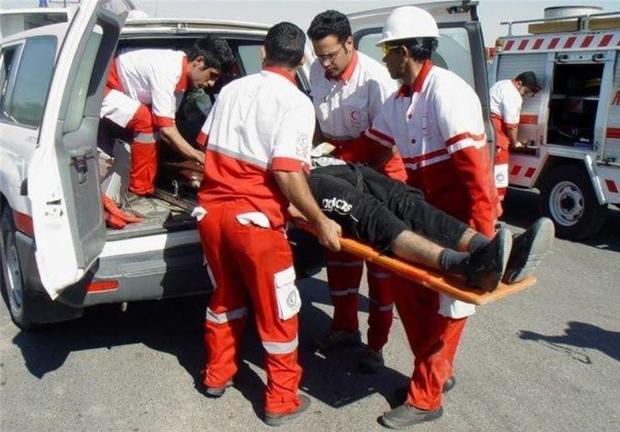 زمان حضور امدادگران هلال احمر به محل حادثه 12 دقیقه است