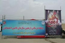 بیمارستان صحرایی مدیریت درمان در مرز مهران افتتاح شد