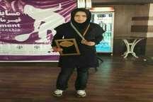 درخشش ورزشکار آران و بیدگلی در مسابقات اسکواش قهرمانی کشور