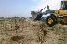 15 هزار متر مربع از اراضی کشاورزی ورامین آزاد سازی شد