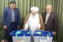 آیت الله گرامی: مردم با شرکت در انتخابات قدرت و نشاط ملی را نشان می دهند