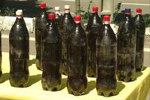 پلیس زنجان مواد مخدر را در بطری های نوشابه کشف کرد