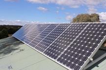 برق تولیدی نخستین نیروگاه خورشیدی خانگی در سنندج وارد مدار شد
