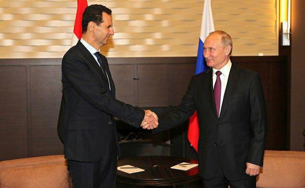 پوتین و بشار اسد دیدار کردند + عکس