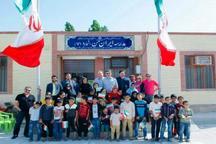 پنج مدرسه پویش «ایران من» در هرمزگان به بهره برداری رسید