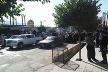 شهید راه مسجد بر دستان هزاران ایلامی تشییع شد