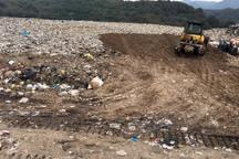 دفن زباله های جایگاه سقز با تاخیر انجام می شود