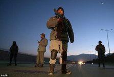 عکس/ حمله راکتی به منطقه دیپلماتیک کابل