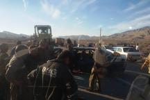 تعداد کشته شدگان برخورد لودر با پژو آردی در جهرم افزایش یافت