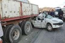 حادثه رانندگی در کامیاران یک کشته و یک زخمی برجای گذاشت