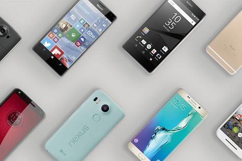 افزاش ۹ درصدی فروش گوشی هوشمند در سهماهه اول سال ۲۰۱۷