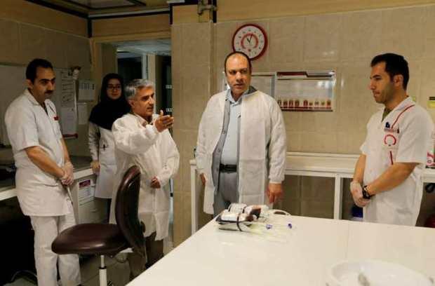خدمت رسانی مطلوب انتقال خون دغدغه بیماران را رفع می کند