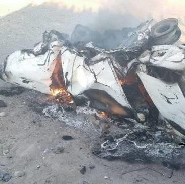 تصادف مرگبار خودروی ۴۰۵ با ۳ پژو پارس در ایرانشهر + تصاویر و فیلم