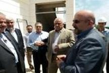 بازدید معاون وزیر راه و شهرسازی از بیمارستان در حال احداث تالش