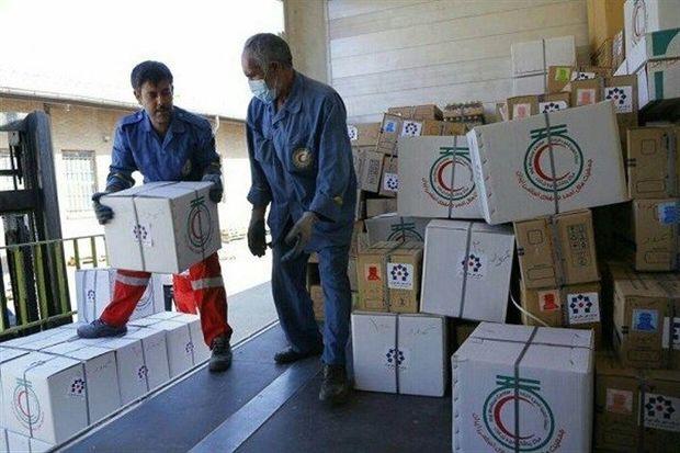 ارسال اقلام امدادی برای زلزلهزدگان آذربایجان شرقی