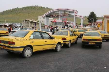 پنج ایستگاه تاکسی در سنندج ساماندهی شد