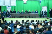 بازدید وزیر دادگستری از زندان مرکزی قزوین آزادی 93 زندانی با امضای آوایی