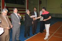 مسابقات ورزشی ویژه فرهنگیان گنبدی برگزار شد