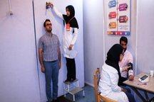طرح ملی غربالگری فشار خون ، تناسب وزن و قد در مهریز آغاز شد