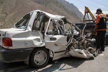 تصادف رانندگی در جاده دیواندره - بیجار یک کشته برجا گذاشت