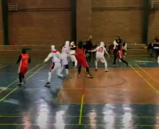 دختران بسکتبالیست گرگان همپای مردان درخشیدند