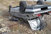 واژگونی خودرو در چناران دو کشته بر جای گذاشت