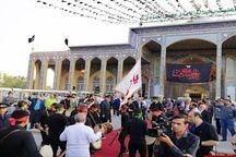 آیین ویژه استقبال از پیرغلامان و خادمان حسینی در یزد برگزار شد