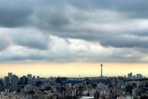 آسمان تهران نیمه ابری همراه با وزش باد پیش بینی می شود