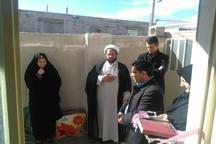 30 واحد مسکونی احداثی بنیاد برکت به مددجویان بهزیستی بدره واگذار شد