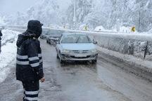 بارش برف پاییزی دماوند را سفیدپوش کرد  آمادگی ستاد برف روبی شهرستان دماوند