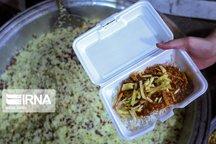 پخت بیش از ۱۸ هزار پرس غذای نذری در روستاهای میناب