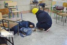 مانور زلزله در ۴۰۰ هزار مدرسه هرمزگان برگزارشد