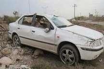 خودروی حامل خبرنگاران جنوب کرمان دچار سانحه شد