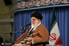 واکنش حضرت آیتالله خامنهای به تحریم نفتی آمریکا: هر قدر خودمان اراده کنیم نفت را صادر می کنیم/  این دشمنی بیجواب نخواهد ماند/ بدانند ملت ایران در مقابل آنها به زانو درنخواهد آمد