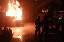 کارخانه ای در مشهد طعمه آتش شد