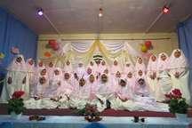 جشن تکلیف دانش آموزان دختر مدرسه 22 بهمن شهر اسدیه برگزار شد