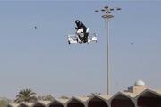 موتورسیکلت های پرنده در آسمان دبی! + تصاویر