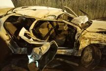 واژگونی خودرو در آبادان 2 کشته و 2 مجروح بر جای گذاشت