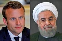 رئیسجمهور روحانی: ایران خواستار یک رابطه باثبات با فرانسه است/ آمریکا همواره در اجرای برجام کارشکنی کرده/ گفتگوهای ایران و اروپا ربطی به برجام ندارد