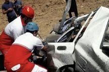 تصادف سمند و پراید در محور هریس - تبریز یک کشته برجا گذاشت