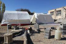 گازگرفتگی ۲۳ نفر از زلزله زدگان آذربایجان شرقی