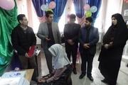 اهدای دستگاه درمان کننده تنبلی چشم به دانش آموزان خراسان شمالی