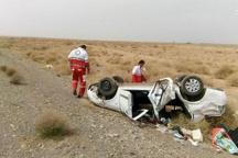 واژگونی خودرو در سبزوار یک کشته داشت