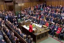 مجلس عوام  انگلیس برای دومین بار توافق خروج از اتحادیه اروپا را رد کرد