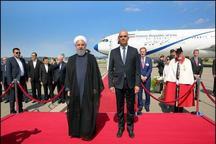 برداشت آشنا از استقبال رئیسجمهور سوئیس از روحانی + عکس