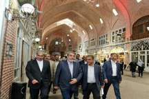 وزیر کشور از بازار تاریخی تبریز بازدید کرد